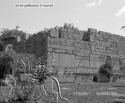 antiker Bau (Bouleuterion?)