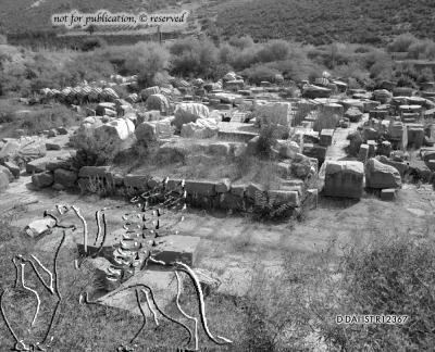 Tempel des Apollon Klarios
