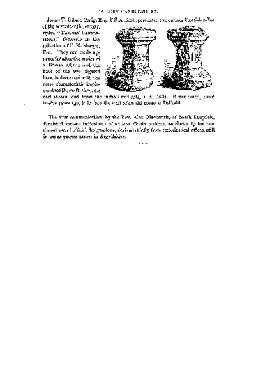 Tailors' Candlesticks (presented by James T Gibson Craig), Volume 1, 69