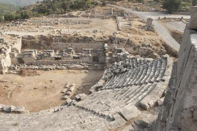 Images of the archaeological site of Xanthos