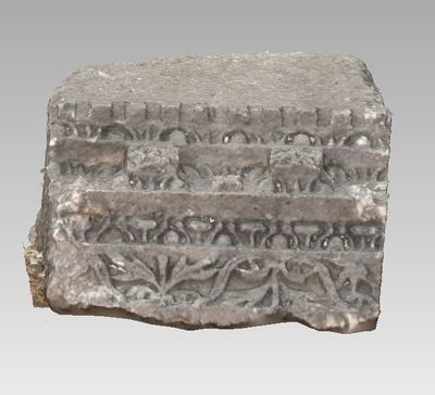 3d model of bloc TH604 in the archaeological site of Xanthos