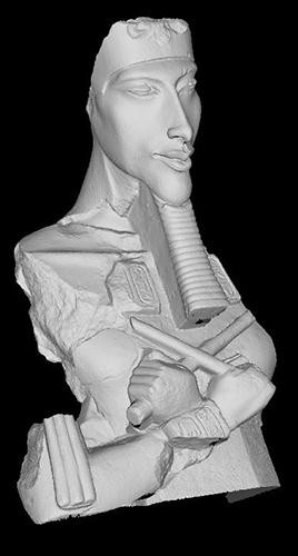 3d model of Akhenaten