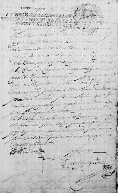 Insignación de donación a Martín Álvarez Osorio