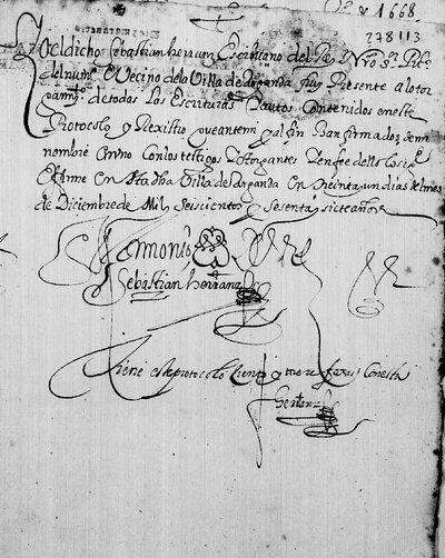 Testimonio de Sebastián Herranz