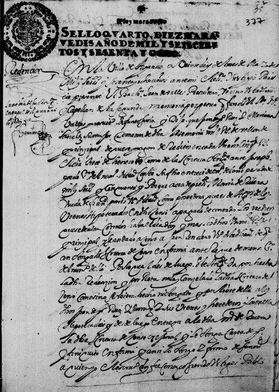Redención de censo de Juan Ruiz