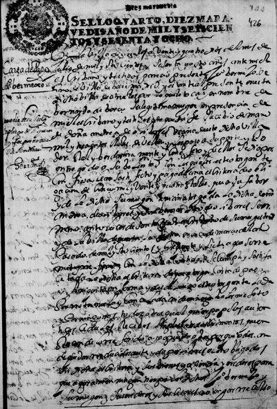 Carta de pago a Juan Bermejo