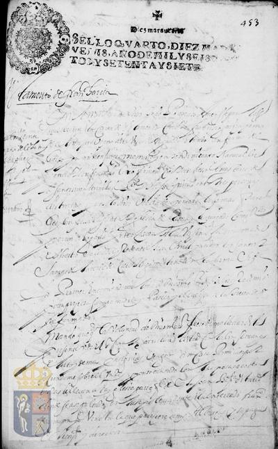 Testamento de Francisco García