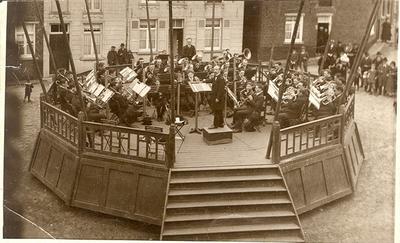 Sociaal leven (muziek) - concert fanfare Sint-Cecilia Essenbeek op de Boterham