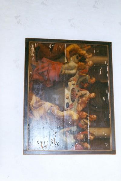 Het Laatste Avondmaal: Jezus voorspelt het verraad van Judas.