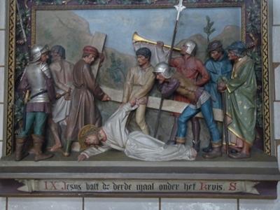 Kruiswegstatie 9