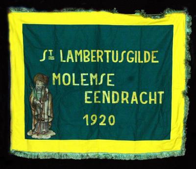 Vlag van schuttersgilde Sint-Lambertus Molem