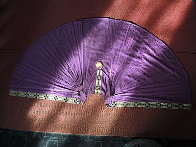 paarse koorkap (bijzantijns kruis)