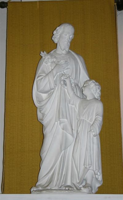 Heilige Jozef met Kind Jezus