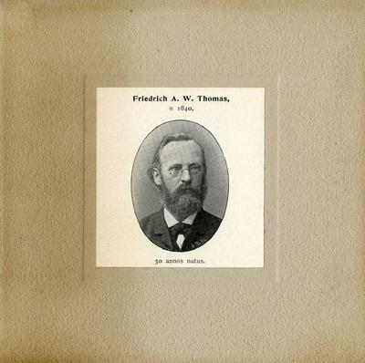 [PORTRAIT] Friedrich A.W. Thomas