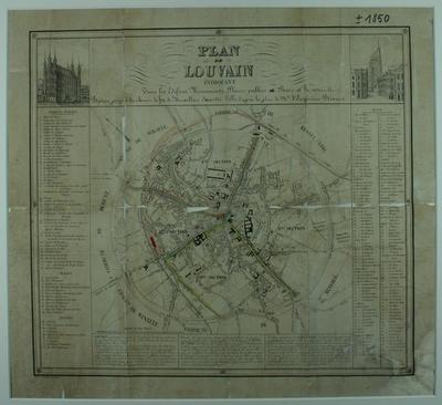 Plan du Louvain