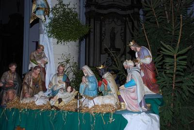 Beelden kerststal