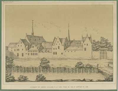 Le Couvent des Nonnes Anglaises, à la Voer, fondé en 1609 et suprimé en 1798
