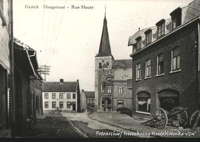 Genck Hoogstraat - Rue Haute