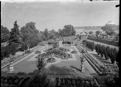 Jardin botanique de Bruxelles : Jardin italien et bâtiment principal #0005