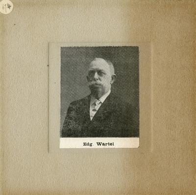[PORTRAIT] Edgar Wartel