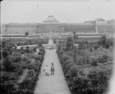 Jardin botanique de Bruxelles : Ecole de botanique et bâtiment principal #0122