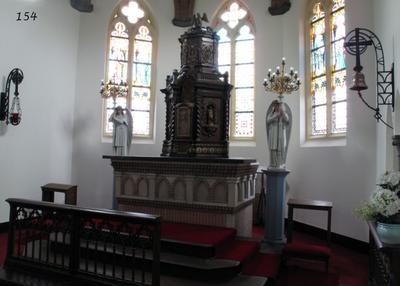 troon (expositie-altaar)