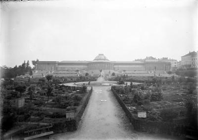 Jardin botanique de Bruxelles : Ecole de botanique et bâtiment principal #0034