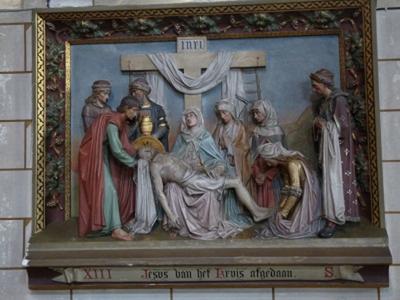 Kruiswegstatie 13