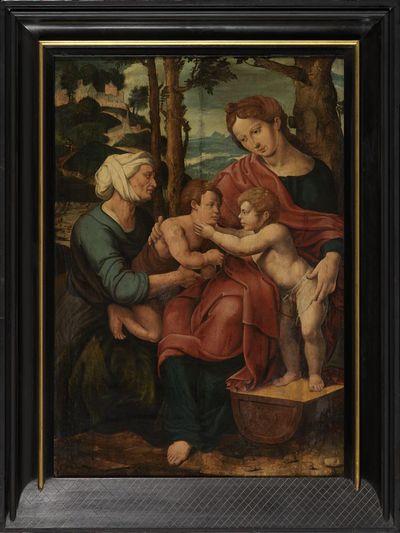 Maria met kind, Elisabeth en Johannes de Doper