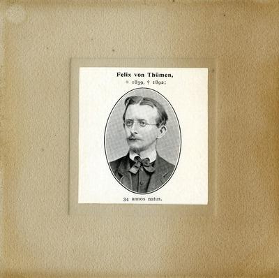 [PORTRAIT] Felix von Thümen