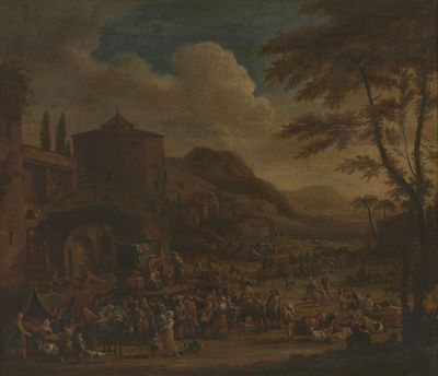Markt in Italië