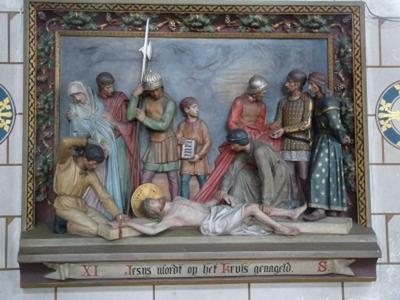 Kruiswegstatie 11