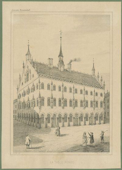 Het Tafelrond op de Grote Markt in Leuven