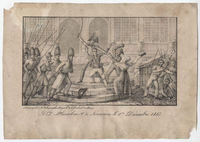 Le J. Plasschaert à Louvain le 17 décembre 1813