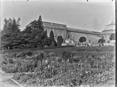 Jardin botanique de Bruxelles : Jardin et bâtiment principal #1714