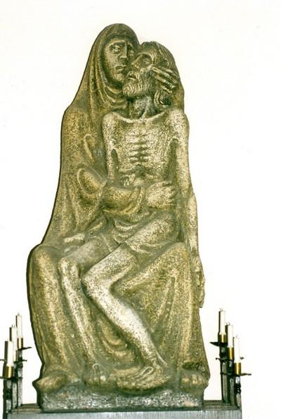 zittende Maria
