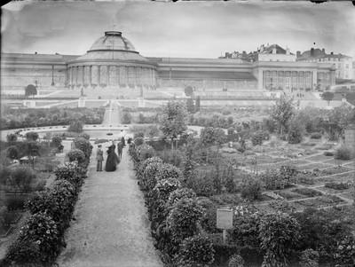 Jardin botanique de Bruxelles : Ecole de botanique et bâtiment principal #0120