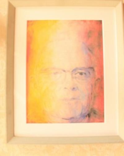 Portret van oud-burgemeester Jean Albert