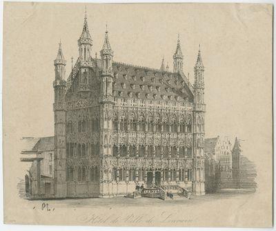 Hotel de Ville de Louvain