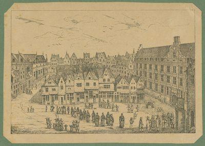 Doctoraatsstoet op de Oude Markt in Leuven