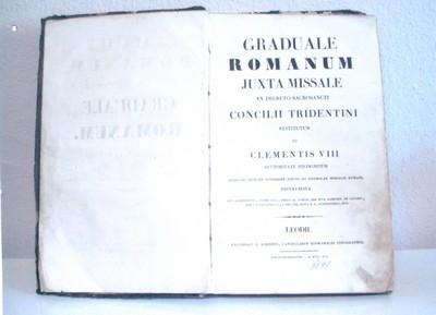 Graduale Romanum Jexta Missale