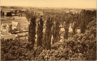 Landschapszicht in Gaasbeek