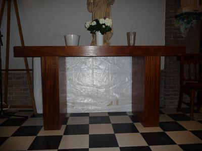 Eenvoudig altaar