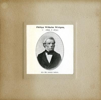 [PORTRAIT] Philipp Wilhelm Wirtgen