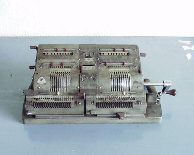 mechanische rekenmachine