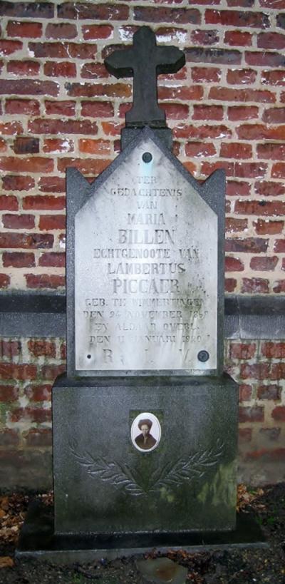 Grafsteen Maria Billen