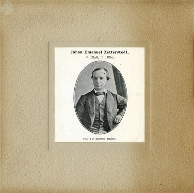 [PORTRAIT] Johann Emanuel Zetterstedt