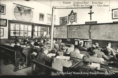 Genck Jongensschool - Eene klas