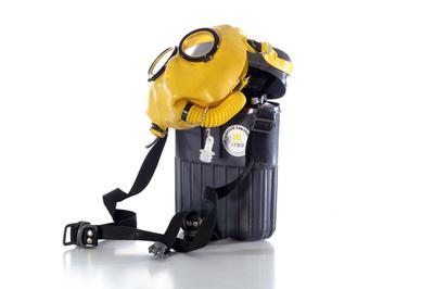 CO filter zelfredder voor redders