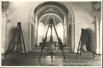 Winterslag - Wijding van de drie klokken van de Heilig Hartkerk